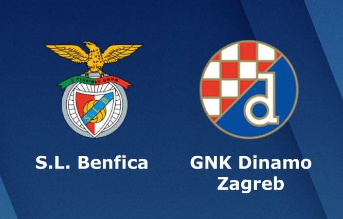 Kết quả hình ảnh cho Benfica vs Dinamo Zagreb